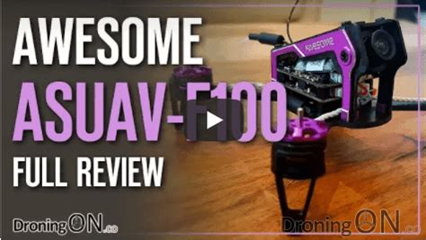 ASUAV Awesome F100 Brushless Micro Review, Unboxing