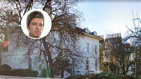 Noel Gallagher's London Home Now Asking £8