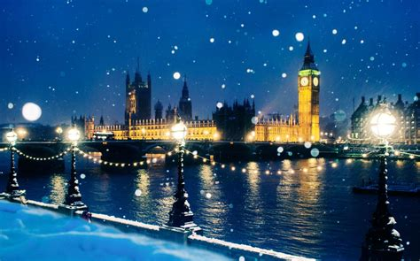 Revealed: the UK cities most likely to have a white Christmas