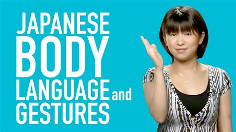 Learn Japanese - Japanese Body Language and Gestures