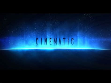 Cinematic Titles | After Effects template - YouTube