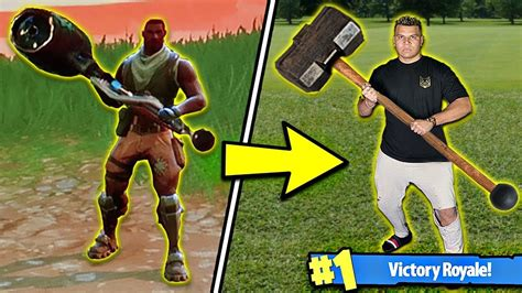 FORTNITE WEAPONS in REAL LIFE! (DIY BEST WEAPONS