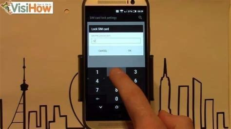 Lock SIM with PIN code on HTC One M8 - VisiHow