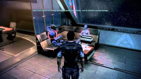 Mass Effect 3 - Garrus And Liara Discuss The Past (Funny
