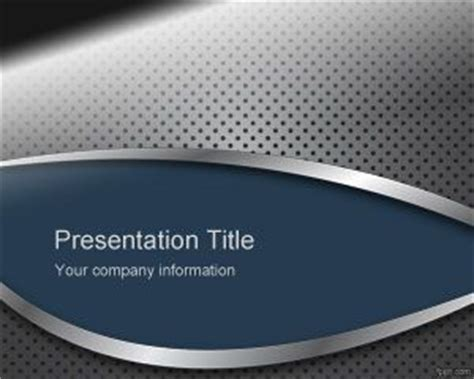 Metal Surface PowerPoint Template