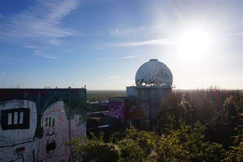 Visiting the Abandoned Listening Station of Teufelsberg in