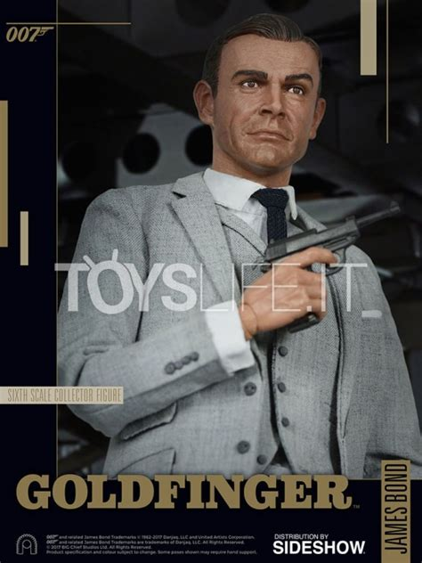 Big Chief 007 Goldfinger Sean Connery 1:6 Figure   TOYSLIFE