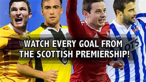 Watch every goal from the Scottish Premiership! - YouTube