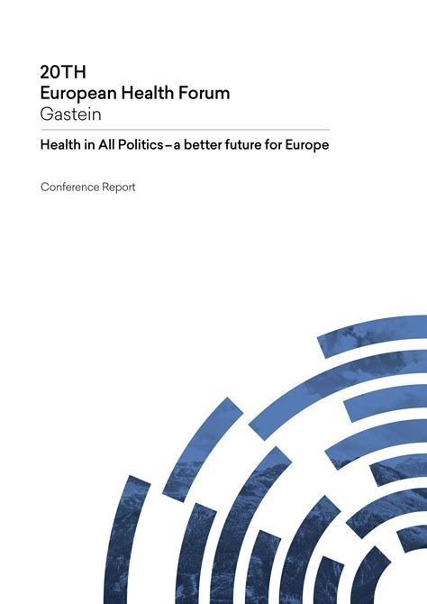 health forum conference report example