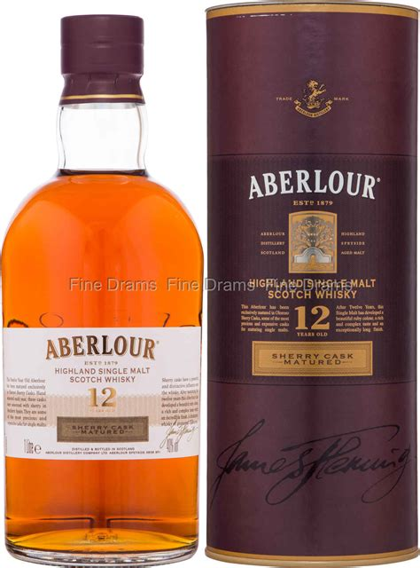 Aberlour 12 Year Old Sherry Cask Whisky (1 Liter)