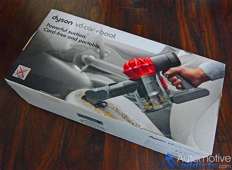 Review: Dyson's New V6 Car+Boat Handheld Vacuum Is A