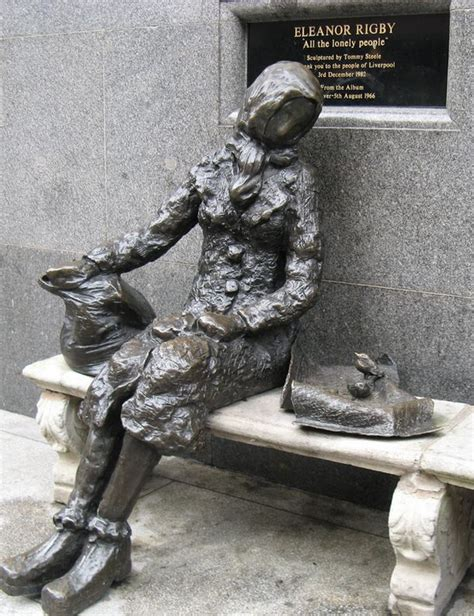 Eleanor Rigby statue | The Pop History Dig