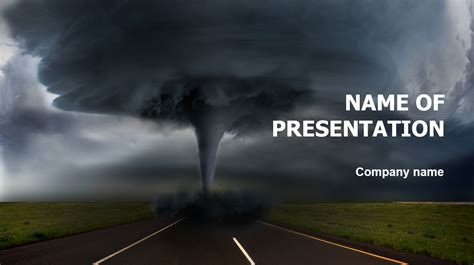 Download free Hurricane PowerPoint template for your