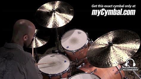 Zildjian K Constantinople Cymbal Set - Played by Marcus