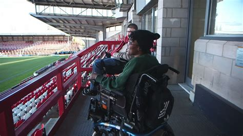 Are football stadiums no-go for disabled? – Channel 4 News